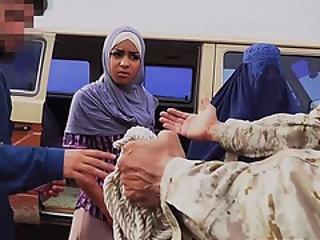 Americano, árabe, blowjob, ano, hija, interracial, delgada, soldado