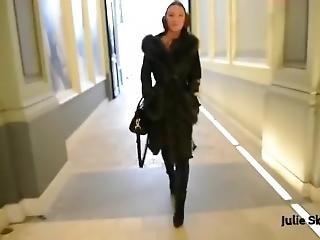 Julie Walk In Fur