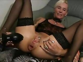 0867_ - Slutty Milf Lady-isabell666 Fucks Herself In The Ass Huge Dildo