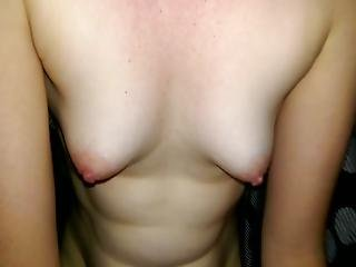 Sexy Amateur With Tiny Tits Gives Gentle Oral
