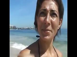 Brazilian Milf On Vacation