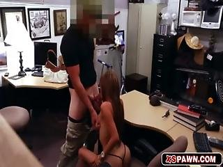 Amateur, Babe, Big Tit, Blowjob, Brunette, Gun, Handjob, Hardcore, Office, Pussy