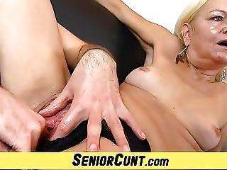 Closeup, Fingering, Grandma, Mature, Milf, Old, Pussy