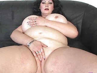 Plumper Big Beautiful Woman Doggystyled Until Cumonboobs
