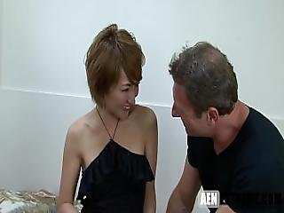 Asian Mom Gets Her Share Of American Cock