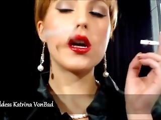 Katrina Vonbad Smoking Goddess