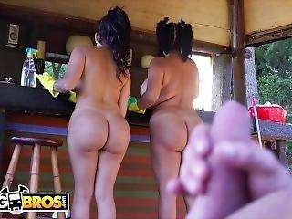 cul, gros cul, brunette, sale, hardcore, latino, femme de ménage, star du porno