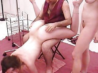 肛門の, アジアン, 巨乳, フェラチオ, ブルネット, 精液, 浣腸, 舐める, マスターベーション, オーラル, セックス, 3P