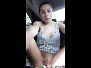 Squirting In The Car