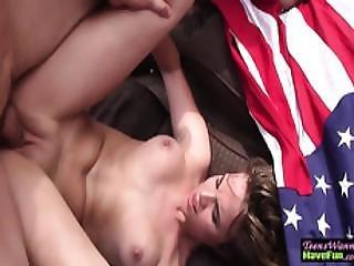 Amateur Teen Banged Dong