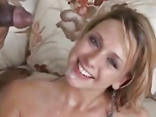 Black Bull Cumming In Her Mouth