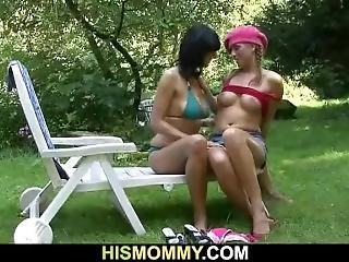 Gf Is Fucked By His Busty Mom