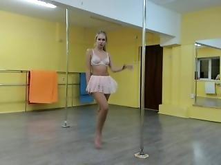 amateur, webcam meisje, dansen, paal, sexy, solo, webcam