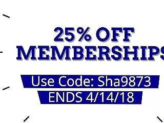 Membership Sale- 25% Off At Shawnavids.com!