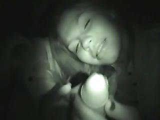 Russian Homemade Teen Threesome And Orgasms In Night Vision