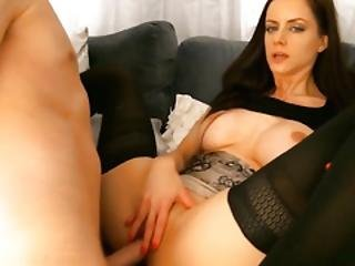 Hot Girlfriend Wanted That Cum In Her Pussy