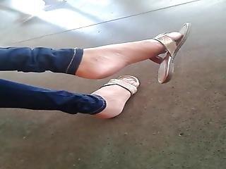 Candid Feet- Feet Jeans