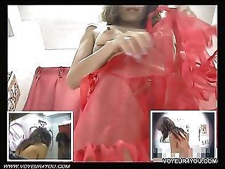 Brassiere Fitting Room Hidden Camera