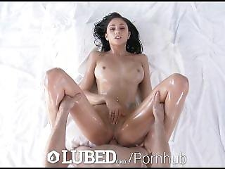 Lubed - Ariana Marie Has Her Oiled Body Massaged And Fucked