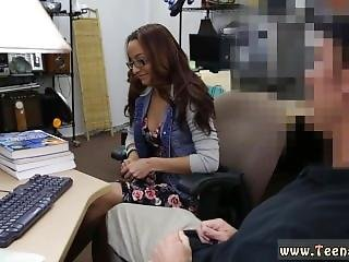 Hd And Pov Brunette Tent College Student Banged In My Pawn Shop!