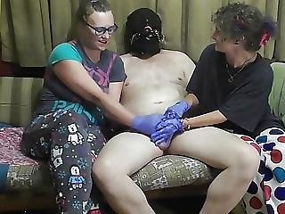 Four Hands But No Release For Slave