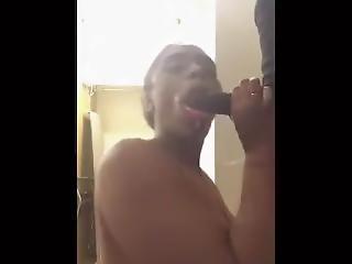 Kakey Blowjob Sucking Bbc Sloppy Toppy Pt 2