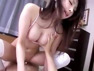 Japan Long Legged Teen Gets Fucked