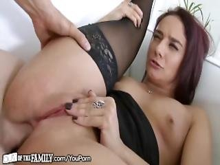 Naughty Cougar Caught Doing Anal With Daughter Boyfriend