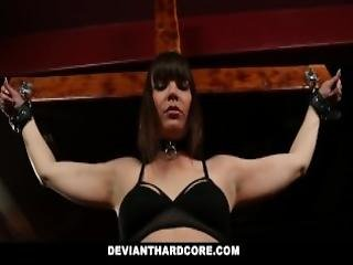 Devianthardcore Submissive Milf Groped Handcuffed And Dominated