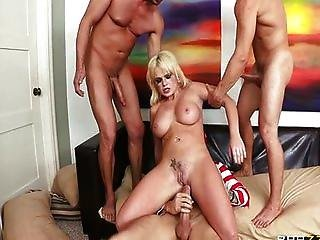 Alexis Ford as a horny cop