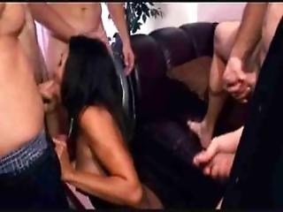 asiatique, pipe, champagne, sperme, avale le sperme, éjaculation, nique, oral, sexe, avale