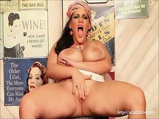 Angelina Castro Huge Squirting Machine