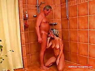 Anna Give An Aged Guy A Good Cock Sucking