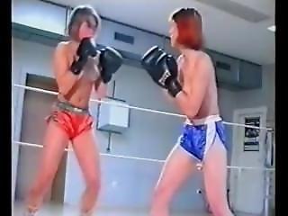Lgis - Kristina Vs Jenny Topless Boxing