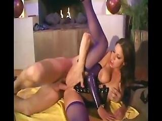 Sexy Slut Gets Fuck With Fishnet %26 Lingerie On