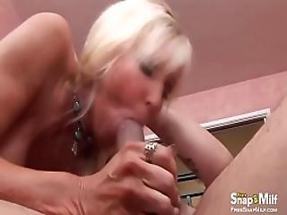 Blonde Milf Gets A Hardcore Fuck