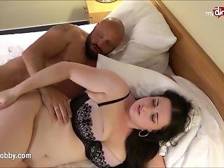 Chubby German Teen Sex With Older Guy In Hotel Room