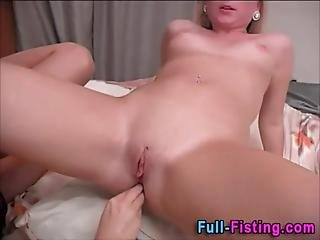 Amateur, Anal, Anal Fist, Blonde, Extreme, Fetish, Fisting, Gaping Hole, Lesbian, Lesbian Teen, Petite, Strapon, Teen