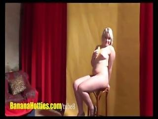 Chubby Czech Teen Has Fun At The Casting