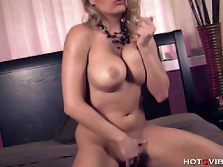 Busty Blonde Has A Big Orgasm