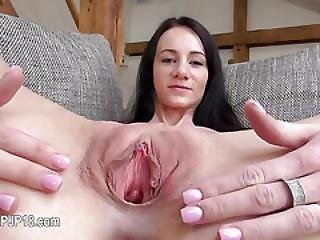 Gyno Gaping Of Beautiful Czech Babe