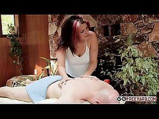 Sexy Massuese Arizona Gets Internal Massage From Buck Wylde