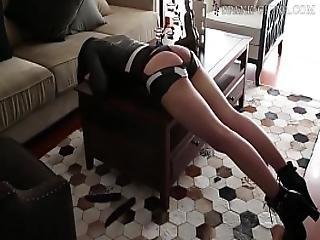 hidden spank - Chinese Secret Agent Spanked