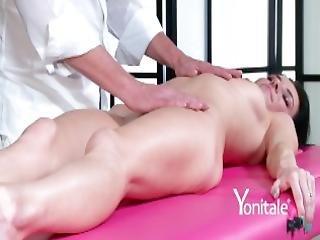 smuk, brunette, finger, massage, milf, orgasme, pink, fisse