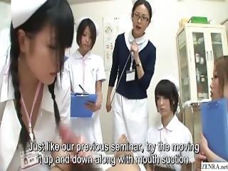 avsugning, cfnm, examination, avrunkning, sjuksköterska, konstig