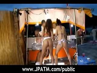 Public Sex Japan - Asian Babes Exposing Outdoor Movie-15