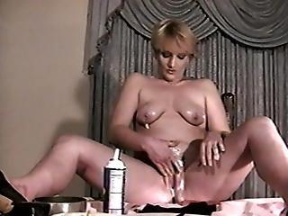 Blonde Bitch In High Calorie Fucking Scene1