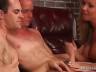Grandpa In A Bisexual Mmf With Teen Couple