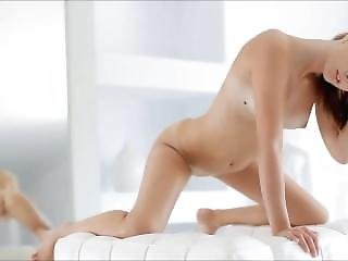 αυνανισμός, καθρέφτης, μικρά βυζιά, Teasing