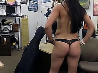 Brazilian Musician Gets Fucked Hardcore By The Pawnshop Owner
